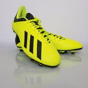 adidas Men's X 18.4 FG Firm Ground Soccer Cleats